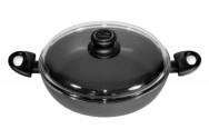 Сервировочная сковорода со стеклянной крышкой BAF FERROLine Induction
