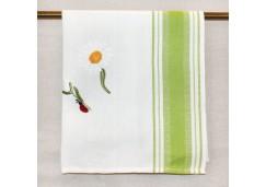 """Полотенце Busatti Дуефраголе с вышивкой """"Цветок"""""""