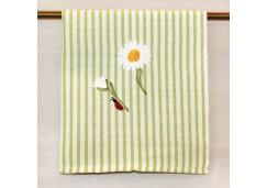"""Полотенце Busatti Мелограно с вышивкой """"Цветы"""""""